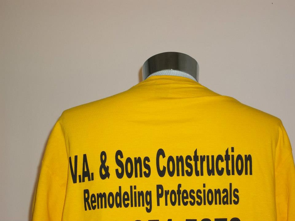 T shirts for construction companies cheapteesblog for T shirt business name ideas